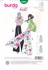 From UK Sewing Pattern 1970'S polazzo Pants  6-16 US #6966