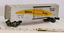 LIONEL WESTERN PACIFIC SILVER 6464100 REEFER BOX CAR
