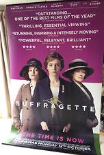 Cinema Banner: SUFFRAGETTE 2015 Carey Mulligan Helena Bonham Carter Meryl Streep