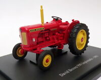 Hachette 1/43 Scale Model Tractor HT056 - 1963 David Brown 990 Implematic - Red