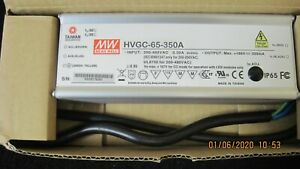 HVGC-65-350A, MEAN WELL, LED DRVR CC AC/DC 18-186V 350MA