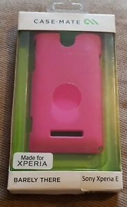 Barely There Rear Case/Cover CM025823 for Sony Xperia E