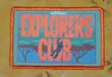 ~ Atari Video Game Vintage 80's Activision Patch - Pitfall! Explorers Club  ~