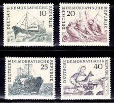 SELLOS BARCOS ALEMANIA D.D.R. 1961 532/35 4.
