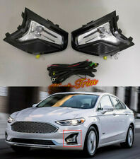 FIT For Ford Fusion Mondeo 2019 2020 Front fog light assembly+Switch kit 2PCS