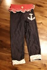 Girls HARAJUKU MINI FOR TARGET pants with anchor sz 4t FAST SHIPPING😁