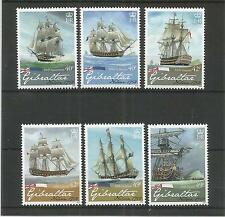 GIBRALTAR 2008 LORD NELSON SG,1268-1273 U/MM N/H LOT 3851A