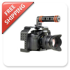 Honu Camera Cage V2.0 w/Top Handle HDMI Cable Clamp for GH3 GH4 A7 A7S