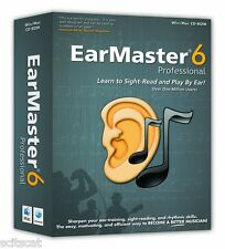New Arobas Music EarMaster Professiona 6 Guitar Windows & Mac Software