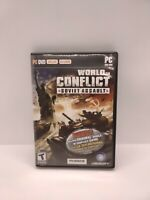 World in Conflict: Soviet Assault PC Strategy Game Bonus Original Game Included