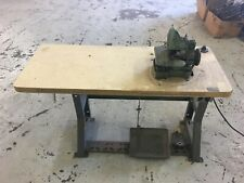 Hoffman Brothers Karpet King Sewing Machine Stand and Running Motor No Head