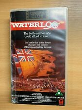 "1991 VHS OF 1970 ""WATERLOO"" MOVIE FEATURING ORSON WELLES (2 HOURS)"