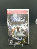 Star Wars: The Force Unleashed (Sony PSP, 2008)  NEW SEALED