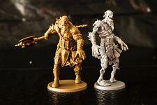 Zombicide Green Horde Exclusive Finarton & Zombie Giant  Survivor w/card