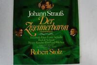 Strauss Der Zigeunerbaron Schock Kusche Wächter Robert Stolz Deutsche Oper(LP17)