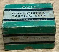 Vintage Wards Level Winding Casting Reel No. 60-6780 EMPTY BOX