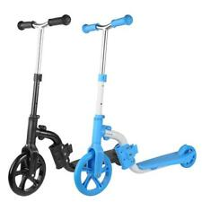Adjustable 2in1 Kids Kick Scooter Toddler Ride on  Push Kids Toys Gift❤SU
