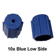 10x A/C Charge Port Service Cap Blue Low Side M8x1.0 R134A Fit MT0063 (I.D 13mm)