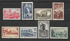 Mint Hinged Pictorial Cancellation European Stamps