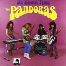 LP THE PANDORAS IT'S ABOUT TIME VINYL COLOR PUNK GARAGE ROCK