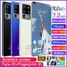 7.2 Inch Android Smartphone 4GB+64GB 10 Dual SIM 10-Core 5600mAh Mobile Phone