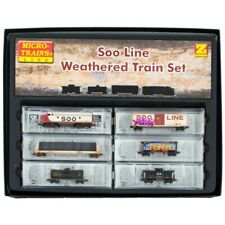 Z Scale - MICRO-TRAINS LINE 994 05 130 Soo Line Weathered Set