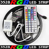 16.4ft RGB 3528 SMD 300 LED Rope Tape Lights Waterproof IP65 DC12V+44 Key Remote