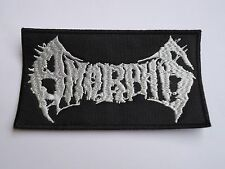 AMORPHIS MELODIC DOOM METAL EMBROIDERED PATCH