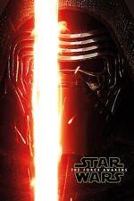 Poster STAR WARS 7 - Kylo Ren Teaser - The Force Awakens  ca60x90cm NEU 58771