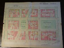 1892 Map of Nw Dc- McPherson Square - Rare large property specific detail.