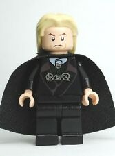 Lucius Malfoy Death Eater Dual Head Genuine LEGO HP Minifigure Excellent Cond