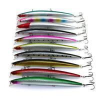 18.5cm / 24.42g Señuelos de Pesca Cebos Bajos Duros Plástico Pececillo