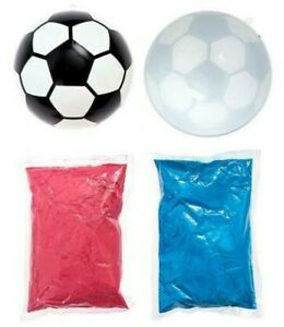 Gender Reveal Soccer Ball - Pink and Blue Kit (Options)
