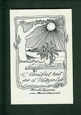 E' Straißel heit fer d' Pälzer Leit Mundartgedichte von Marcel Schuschu Widmung