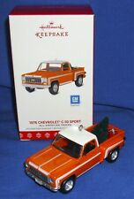 Hallmark Ornament 2017 All American Trucks #23 1976 Chevrolet C 10 Sport Pickup