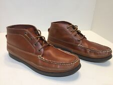 J Crew Sperry Chukka Boots Brown Leather Men's Size 12 M
