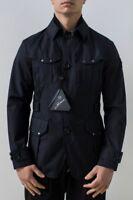 Montecore Field Jacket Uomo Col Blu tg 50 | -51 % OCCASIONE |