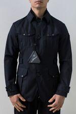 Montecore Field Jacket Uomo Col Blu tg 50   -51 % OCCASIONE  