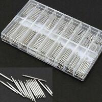 360Pcs/Set 8mm-25mm Wrist Watch Band Spring Bars Strap Link Pins Repair Tool Kit