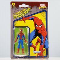 "Marvel Legends Series [Retro] Kenner - Spider-Man 3.75"" Action Figure | MINT"