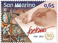 San Marino 2012 Made in San Marino Faetano  Mnh