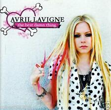 CD audio.../...AVRIL LAVIGNE.../...THE BEST DAMN THING.....