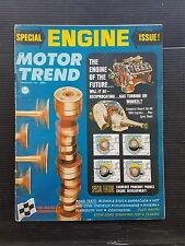 Motor Trend Feb 1966  Special Engine Issue - Plymouth Barracuda - Chevy Chevelle