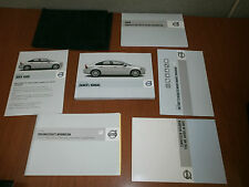 08 Volvo S40 Owners Manual Set