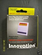 Playstation PSX Datel Pro Action Replay Game Shark Import Adapter Adaptor Swap