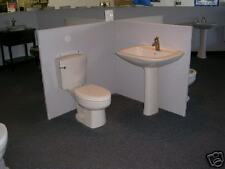 TOILET AND PEDESTAL LAV COMBINATION