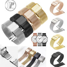 10-24mm' Watchband Thick Milanese Watch Strap Band Stainless Steel Mesh Bracelet