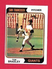 1974 Topps Baseball Tom Bradley #455 Nm    (Combined Shipping Offered)