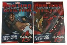 Marvel Captain America Civil War Iron Man Avengers Playing Cards Decks