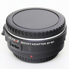 Viltrox EF-M1 AF Auto Focus Lens Adapter Canon EOS EF-S to Micro 4/3 OM-D GH5